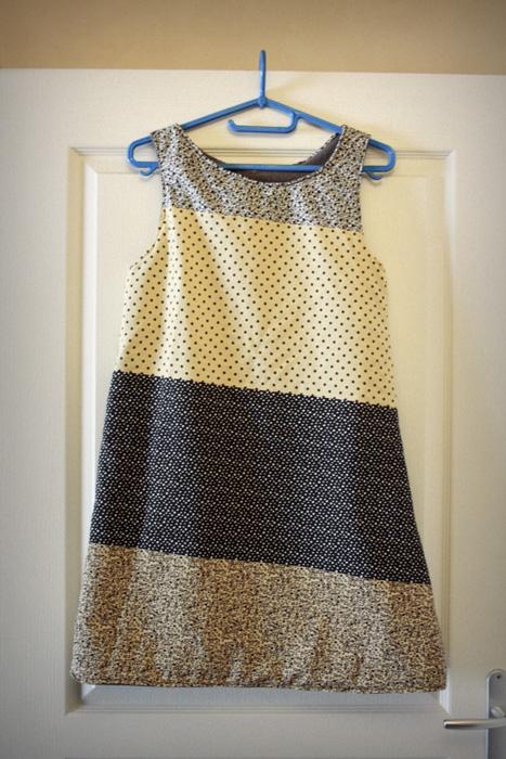 ♥ Une robe trapèze très douillette ♥