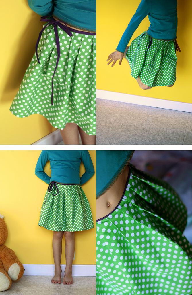 comment coudre jupe plissee