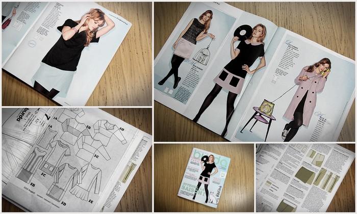 Ma sélection Burda Couture Facile n° 40 H