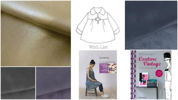 Ma « wish list » créative de septembre 2012