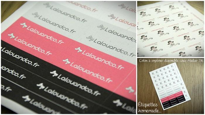 ♡♡ Mes nouvelles étiquettes homemade ♡♡