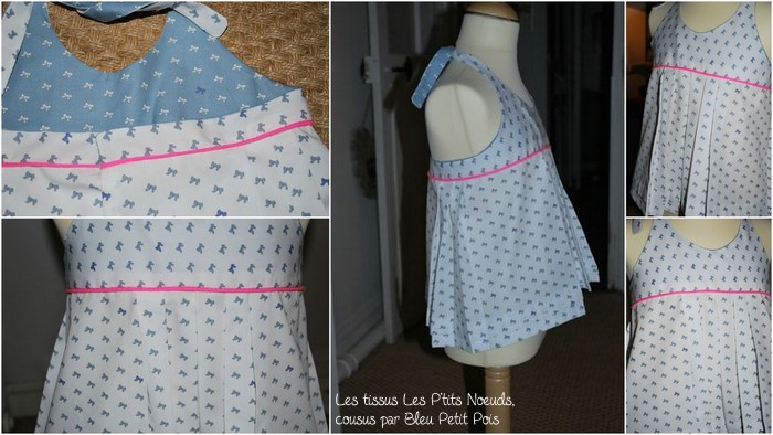 Cousette Les P'tits Noeuds : une Mademoiselle Sunday par Bleu Petit Pois