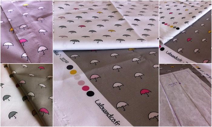 Lalouandco tissus parapluies