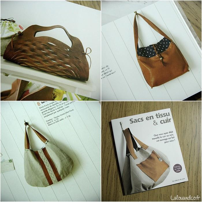 ditions de saxe sacs en tissu cuir lalouandco. Black Bedroom Furniture Sets. Home Design Ideas
