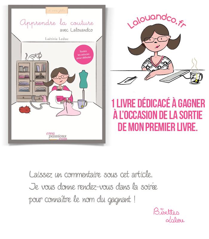 apprendre la couture avec Lalouandco - livre couture