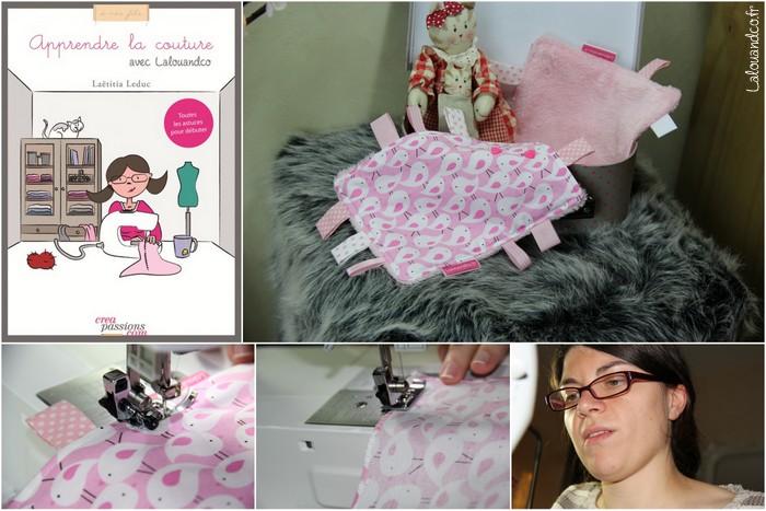 Apprendre la couture avec Lalouandco : le doudou étiquettes [projet à coudre]
