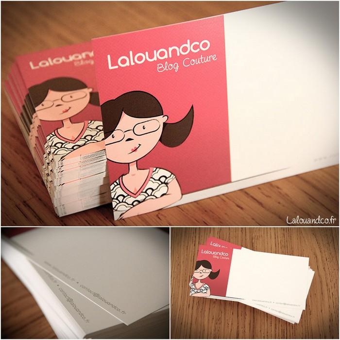 Les cartes de correspondance Lalouandco ♥♥♥