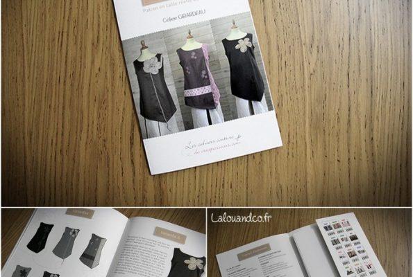 Patron pochette Créapassions : Tuniques asymétriques par Céline Girardeau [concours]