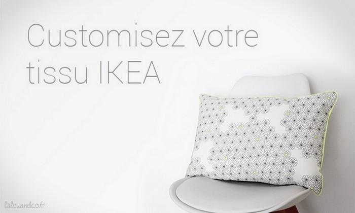 DIY : Customisez votre tissu IKEA