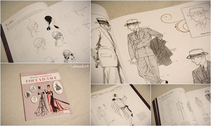 Dessiner et peindre la mode vintage [concours] + EDIT