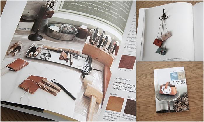 L'atelier du cuir [mes carnets de couture]