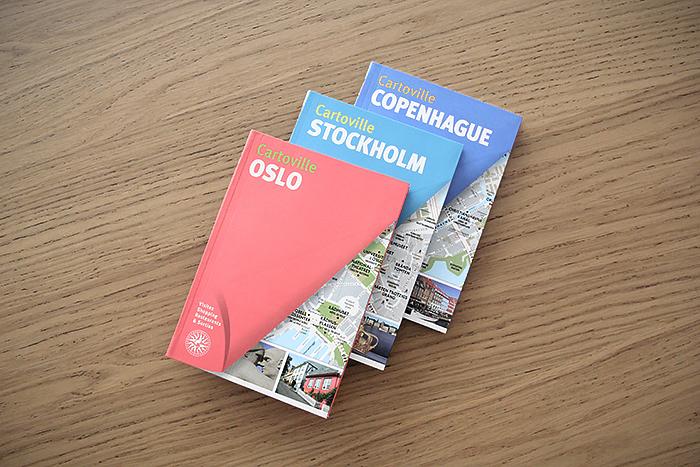 Oslo, Stockholm & Copenhague [cartovilles]