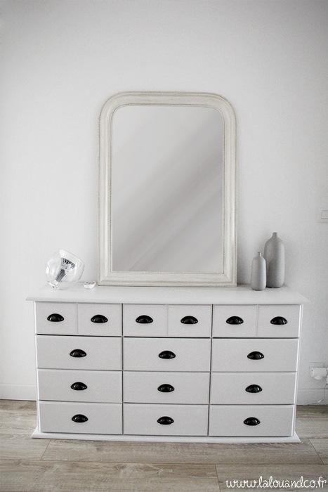 Relooking express d 39 un meuble de m tier lalouandco lalouandco - Idee renovation meuble ...