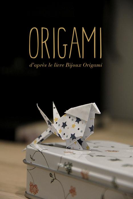 Bijoux Origami Printable Offert Lalouandco