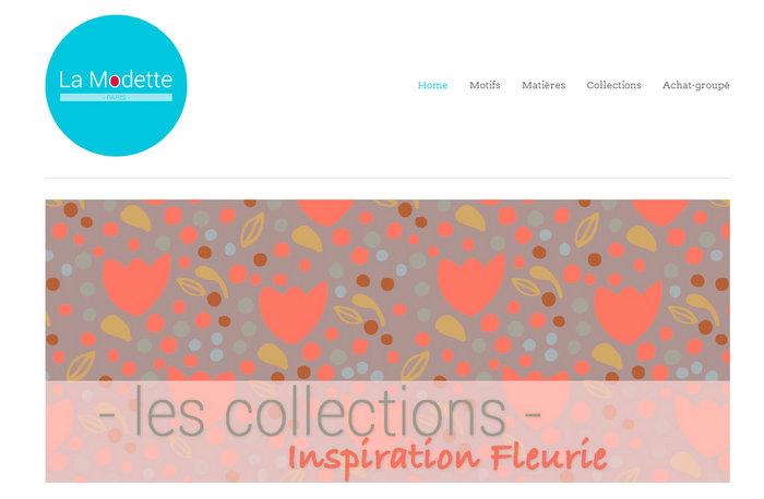 La Modette, une boutique de jolis tissus