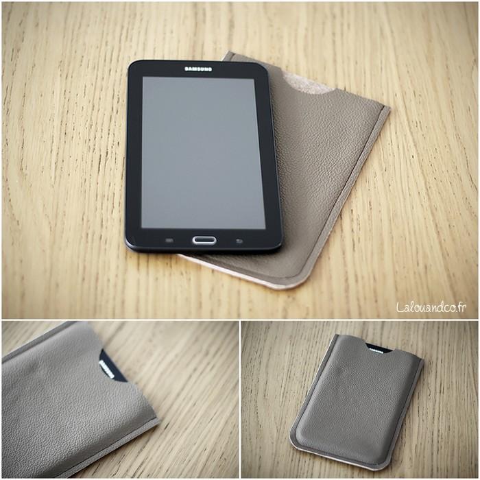 L'étui pour Samsung Galaxy Tab 3 [tutoriel et patron]
