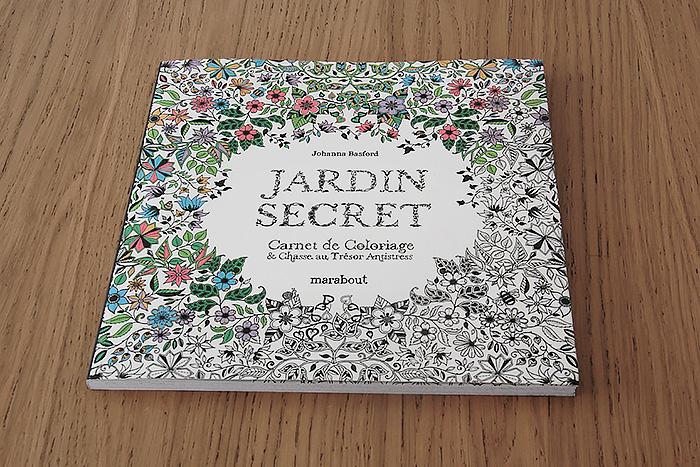 Jardin Secret & Secret Garden, le coloriage à offrir