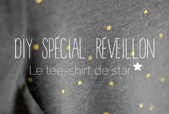 DIY spécial réveillon : le tee-shirt de star