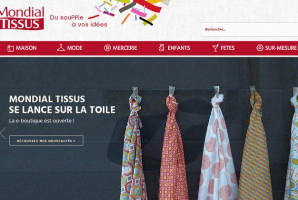 Mondial Tissus, la e-boutique est ouverte !