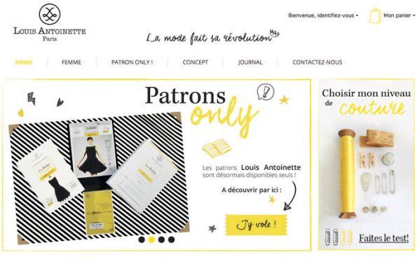 Les patrons de couture Louis Antoinette