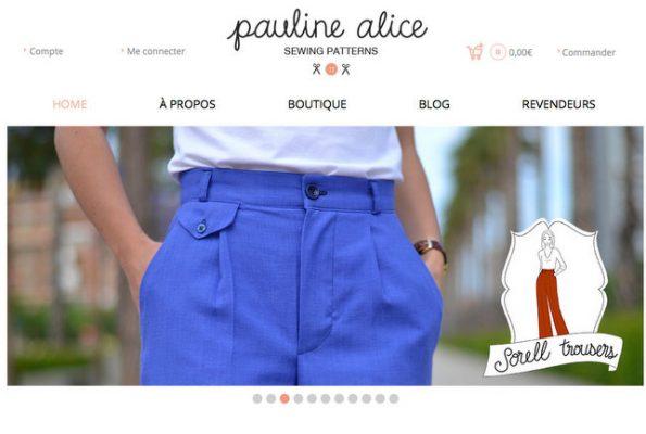 Les jolis patrons Pauline Alice