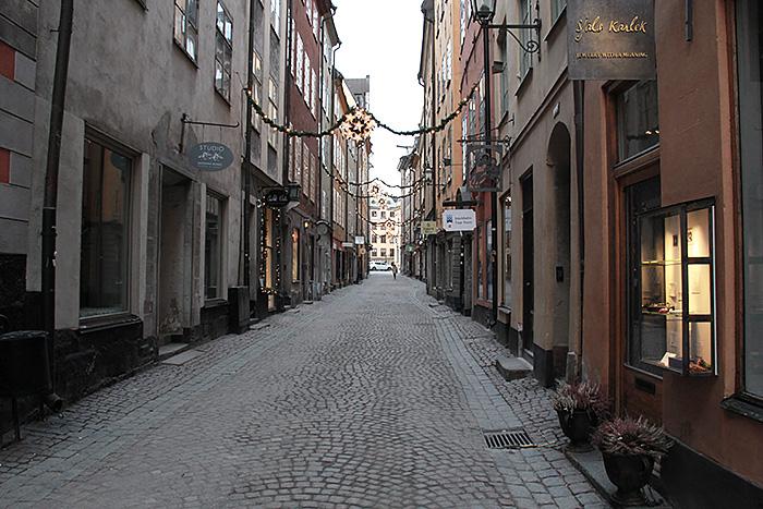 Stockholm-suede-rue-pietonne-gamla-stan