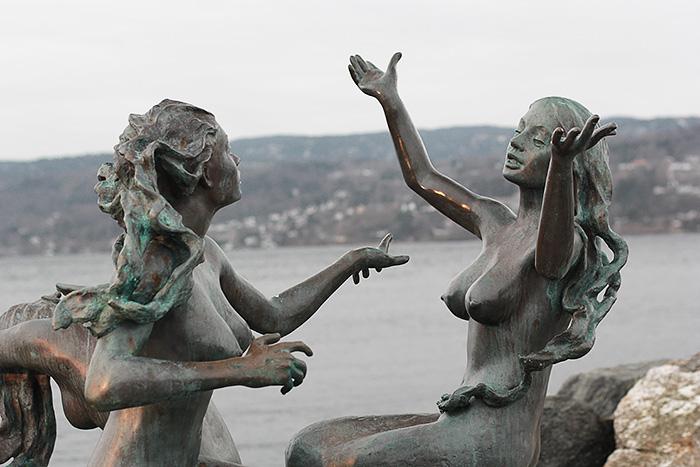 drobak-norvege-scandinavie-statues
