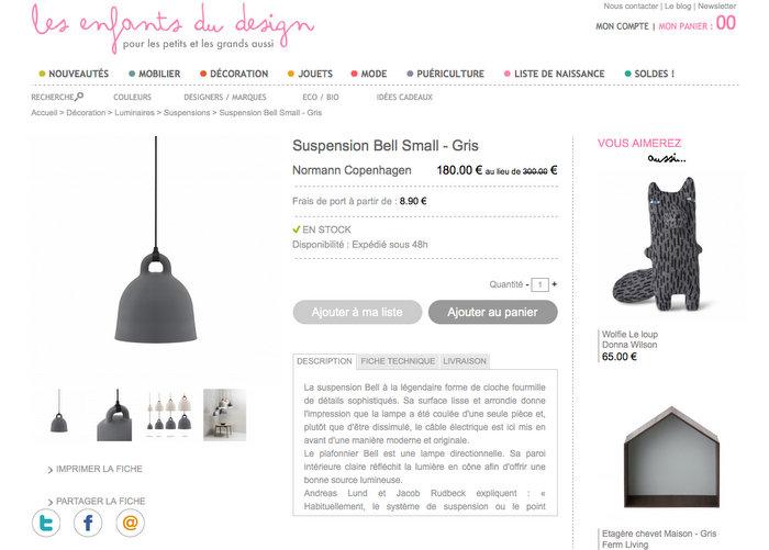 suspension-bell-normann-copenhagen-soldes
