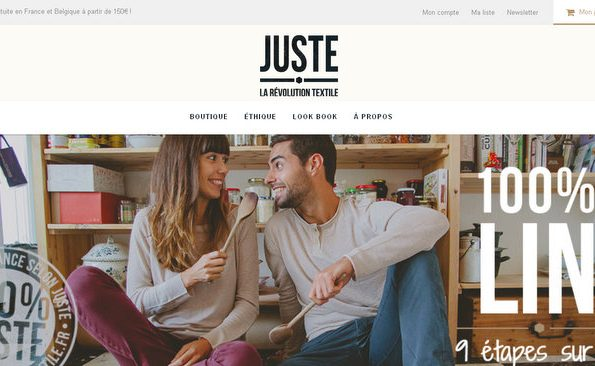 Juste, la révolution textile : 100% Made in France