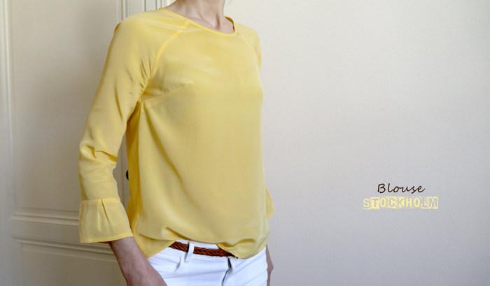 L'Atelier Scämmit : La blouse Stockholm [patron gratuit]