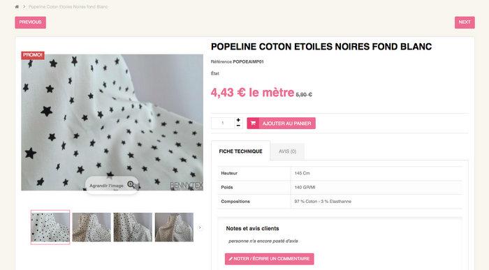 Bennytex-popeline-coton-etoiles-pas-chere