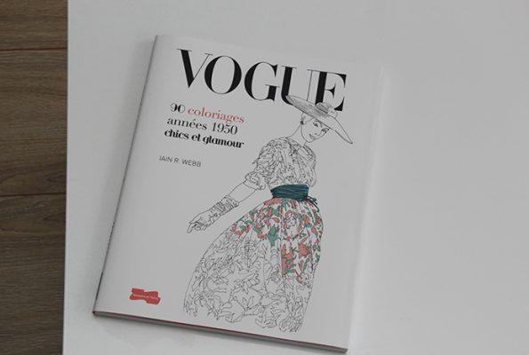 Vogue : 90 coloriages années 1950 [concours]