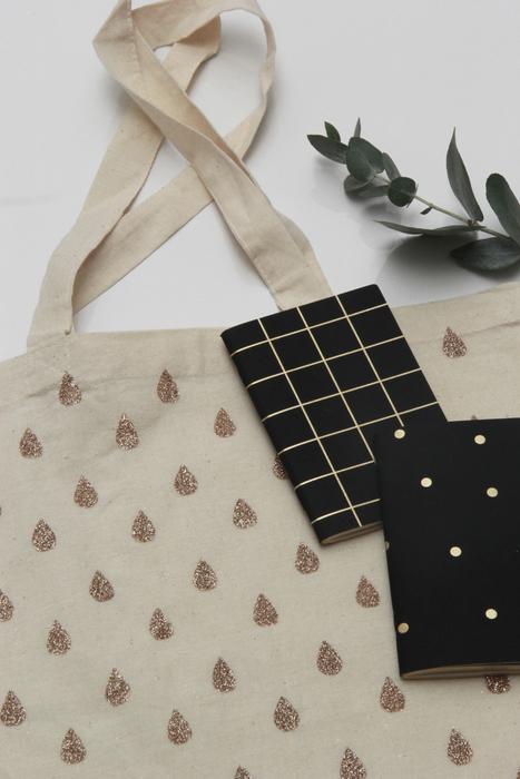 Le tote bag à paillettes [Personnalisez vos tissus]