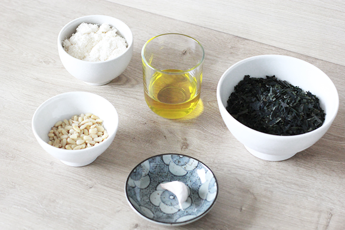 Savez-vous-gouter-les-algues-ingredients-recette-pesto