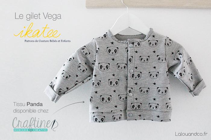 gilet-vega-ikatee-jersey-panda-craftine-lalouandco