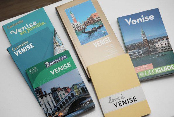 Ma sélection de guides de voyage pour Venise
