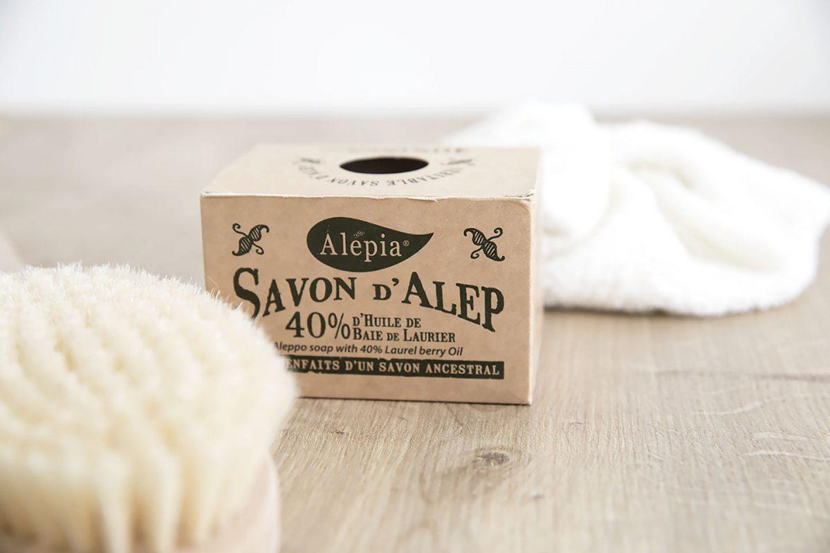 Le savon d'Alep et ses nombreuses propriétés