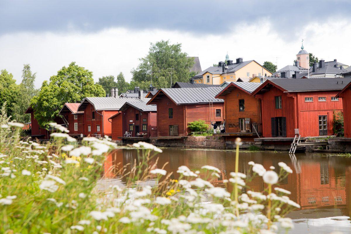 Une journée à Porvoo près de Helsinki