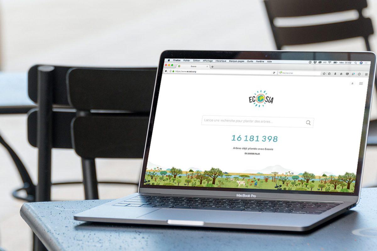 Ecosia, un moteur de recherche qui plante des arbres