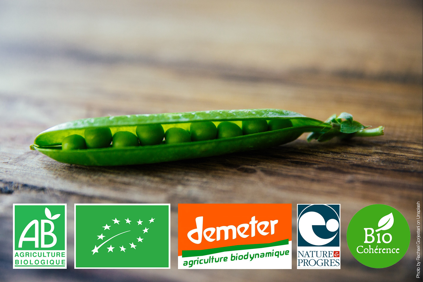 differencier les labels bio alimentaires (photo Rachael Gorjestani)