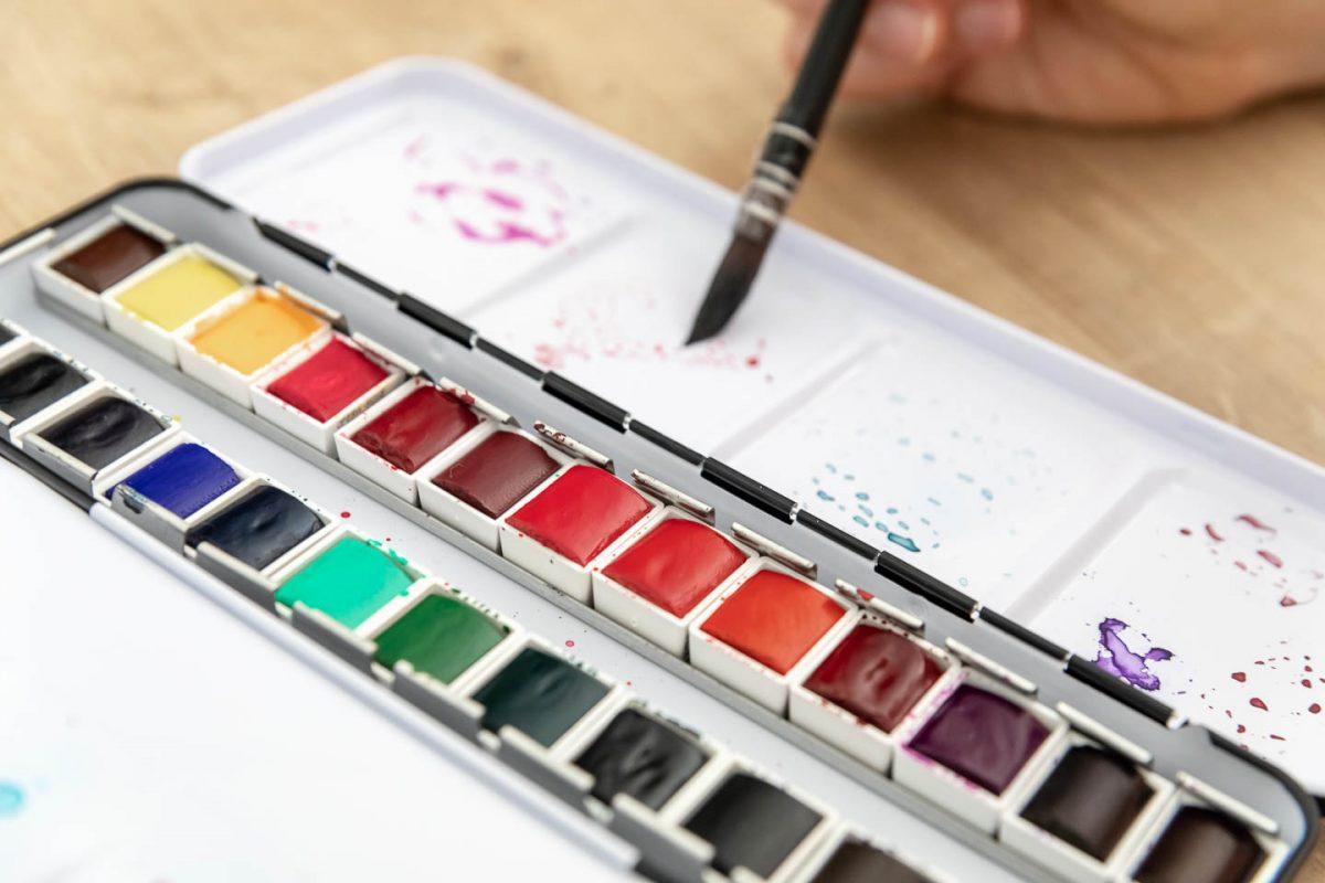 Quel matériel pour débuter l'aquarelle ?